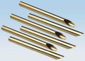C44300 C68700 황동 구리 합금 튜브 ASTM B111